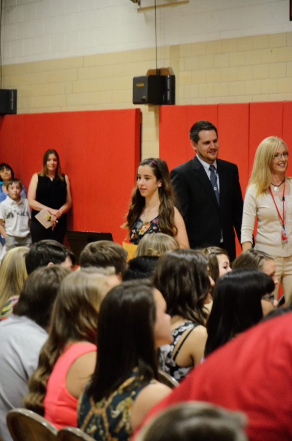 Lanie Graduating from Middle School. Copyright © 2013 Gary Allman, all rights reserved.