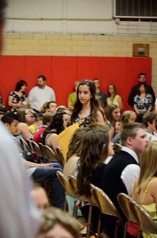 Lanie Graduating from Middle School.Copyright © 2013 Gary Allman, all rights reserved.