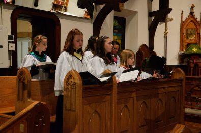 Half the St Cecilia Choir