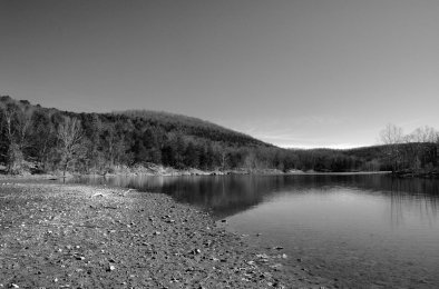 Piney Creek arm of Table Rock Lake. Copyright © 2011 Gary Allman, all rights reserved.