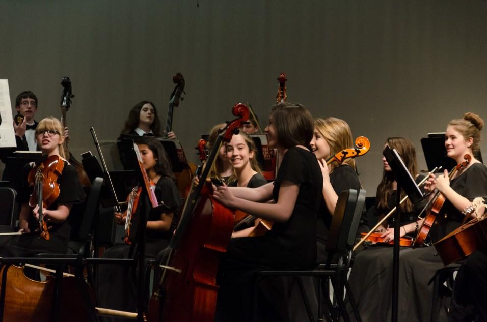 Lanie's High School Orchestra Concert