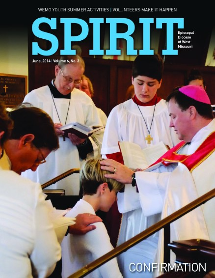 I spent a great deal of the Atlantic crossing editing the June edition of the 'Spirit' Magazine