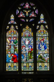 Stained Glass, St. Nicholas' Church, Great Hormead