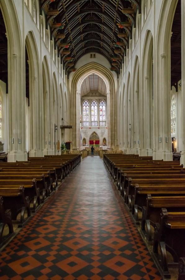 St Edmundsbury Cathedral - Bury St Edmunds