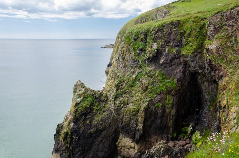 Irish Sea on the Dumfries coast