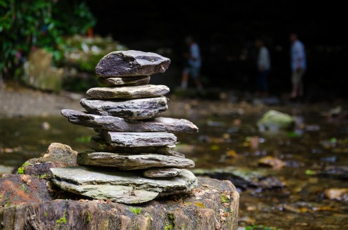 Cairn - St. Nectan's Glen, Cornwall. Copyright © 2014 Gary Allman, all rights reserved.