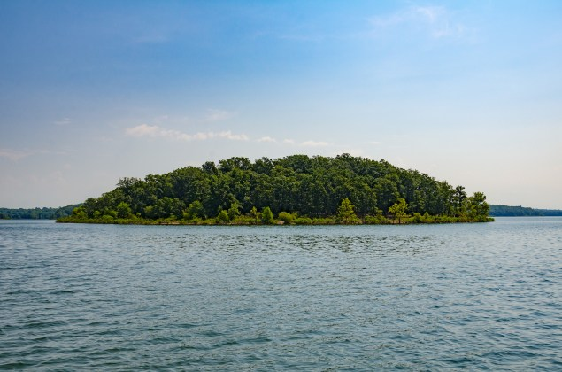 Masters Island, Stockton Lake, Missouri