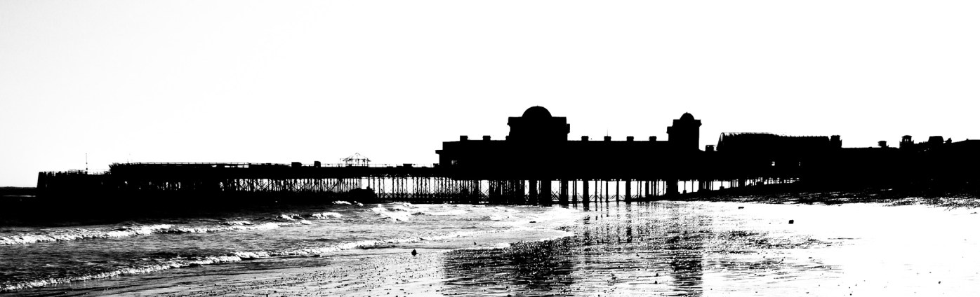 South Parade Pier - Silhouette