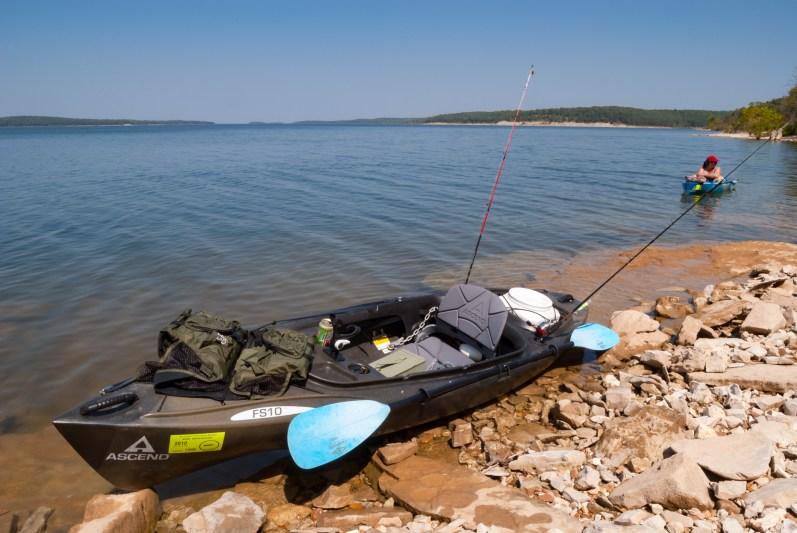 Ascend FS10 Kayak at Stockton Lake