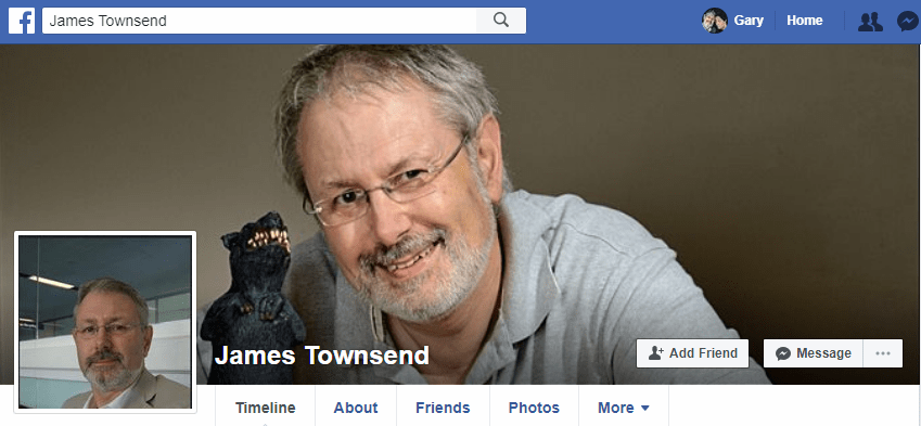 James Townsend (Pictures of Gary Allman, Springfield, Missouri)