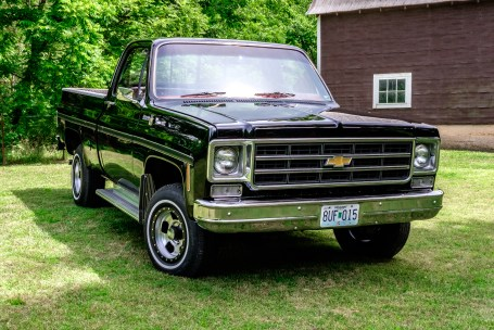 1978 Chevrolet Scottsdale Pickup. Copyright © 2017 Gary Allman, all rights reserved.