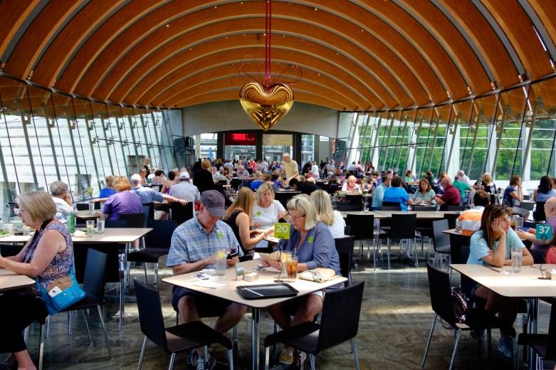Photograph of Crystal Bridges Restaurant - 'Eleven'