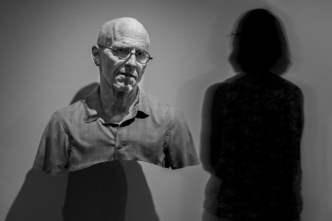 Old Self: Portrait of the Artist as He Will (Not) Be. Variation #2. Artist: Evan Penny. Crystal Bridges Museum of American Art.