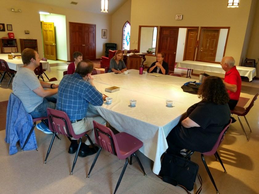 Christian Formation Meeting, St. Paul's Episcopal Church Clinton, Missouri.