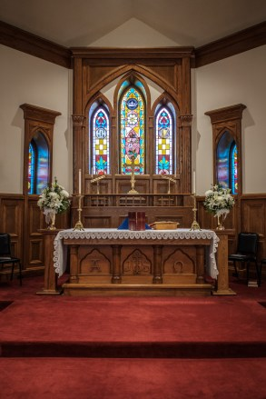 Altar - All Saints' Episcopal Church, Nevada, Missouri