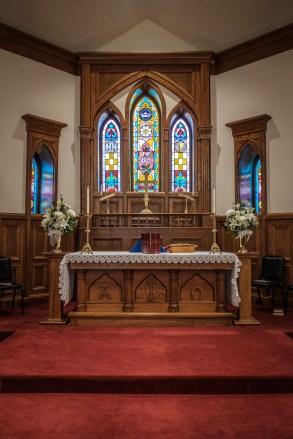 Altar - All Saints' Episcopal Church, Nevada, Missouri