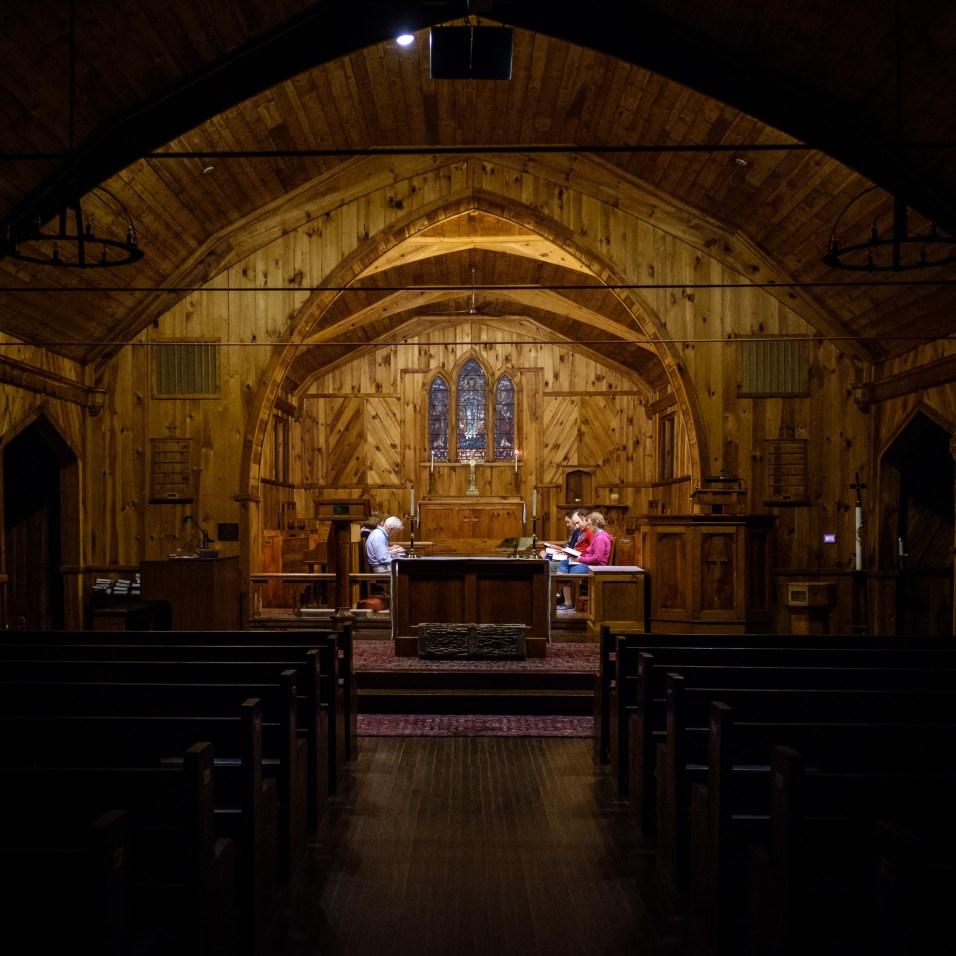 Evening Prayer at the Chapel of the Transfiguration - Kanuga