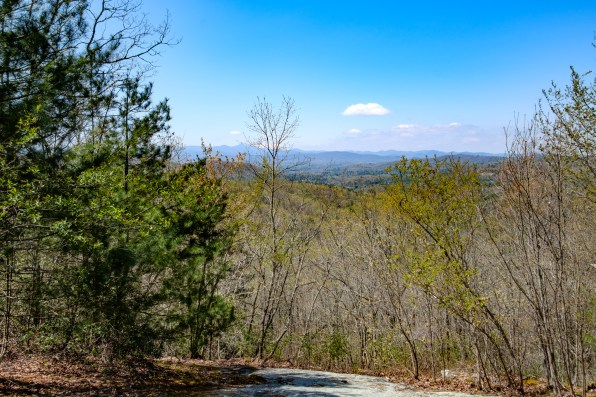 Blue Ridge Mountains near Hendersonville, North Carolina