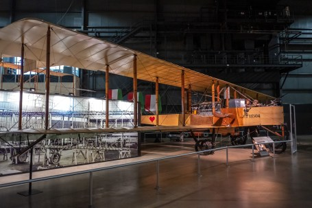 Caproni Ca. 36 bomber at the National Museum of the US Air Force.