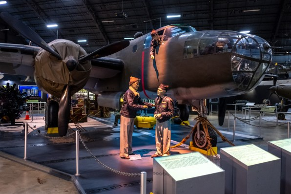 North American B-25B Mitchell at the National Museum of the US Air Force.