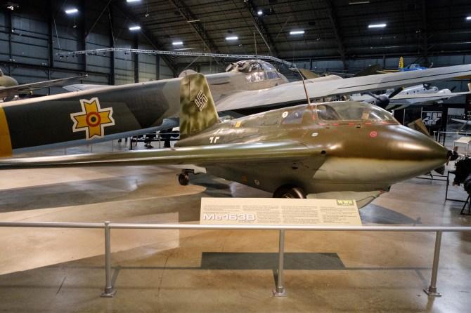 Messerschmitt Me 163B Komet at the National Museum of the US Air Force.