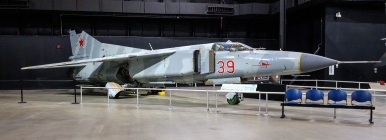MiG-23 at the National Museum of the US Air Force. Copyright © 2018 Gary Allman, all rights reserved.