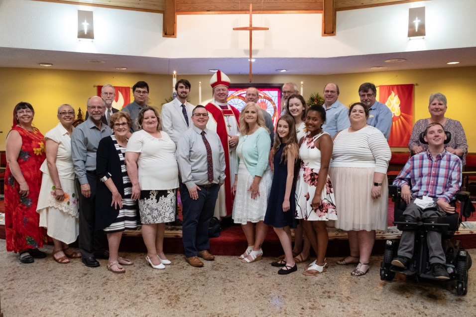 Area Confirmations at St. James, Springfield. Copyright © 2019 Gary Allman, all rights reserved.