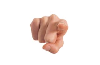 point-finger