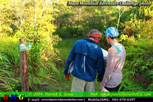 Maya Mountain Adventure Challenge