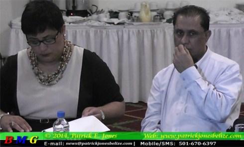 Lisel Alamilla & Dr. Bhawan Singh