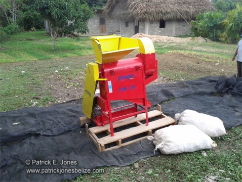 Equipment handing over (Nim La Ha Chutamil Cooperative)