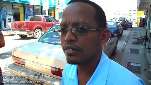 Kevin Bernard (Mayor of Orange Walk)