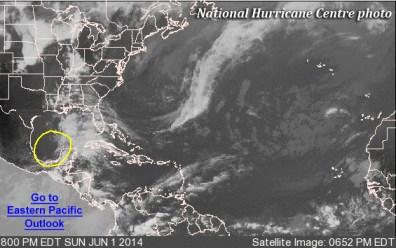 Hurricane season underway