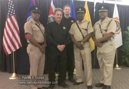 Belize police officers undergo training