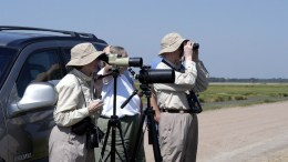 Birders preparing to recapture the Oregon wildlife refuge.