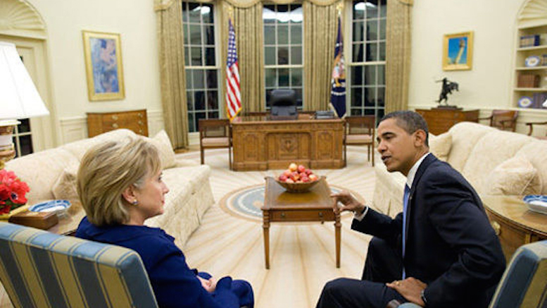 clinton oval office.  Oval Hillary Measures Drapes U0026 Space For Private Email Servers During Visit To Oval  Office Inside Clinton