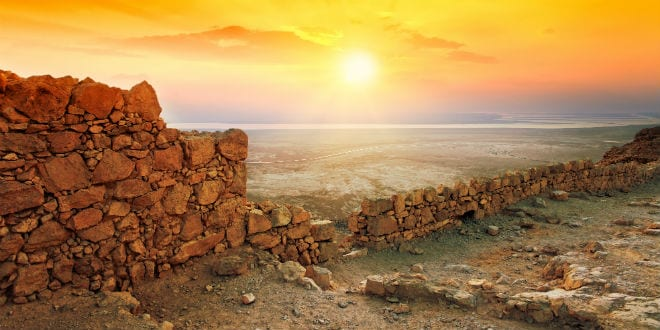 Illustrative: the sun rises over the Masada fortress. (Photo: Shutterstock.com)