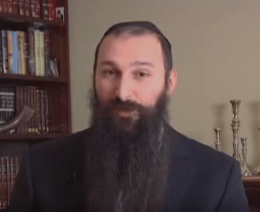Rabbi Alon Anava (YouTube Screenshot)
