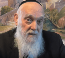 Rabbi Matityahu Glazerson (Screenshot)