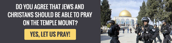 Let Jews Pray on the Temple Mount!
