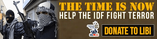 The time is now! Help the IDF fight terror. Donate to LIBI today!