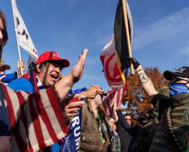 'It's not over': Trump supporters begin flocking to state capitols after Biden victory is announced