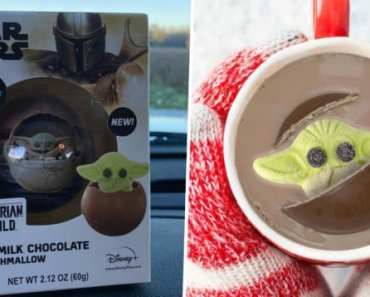 You Can Buy a Hot Cocoa Bomb That Pops Out a Baby Yoda Marshmallow as it Melts