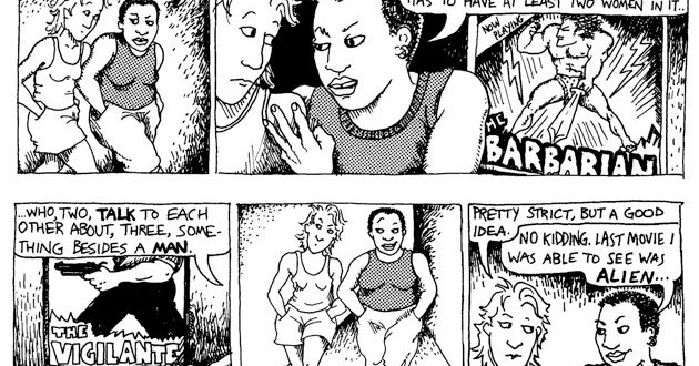 Bechdel: Dykes to watch out for