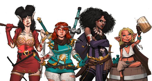 Women's jobs in fantasy