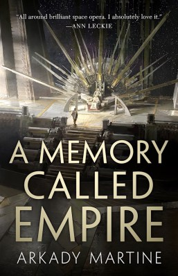 A Memory Called Empire by Arkady Martine - book cover