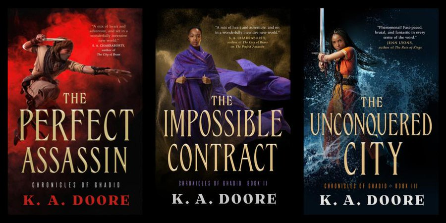 Chronicles of Ghadid (trilogy) by K.A. Doore