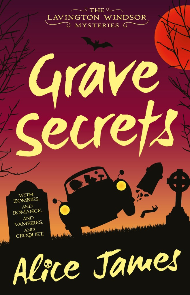 Grave Secrets by Alice James (cover)