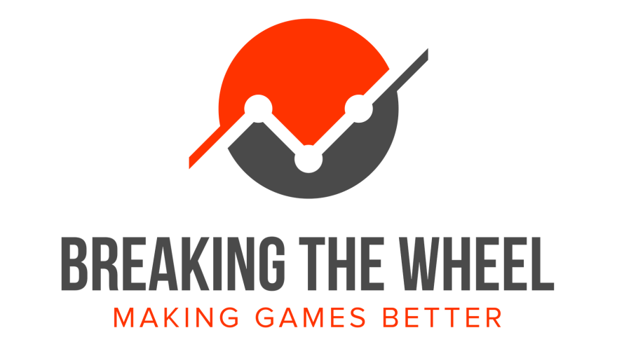 Breaking the Wheel Icon, logo, and slogan