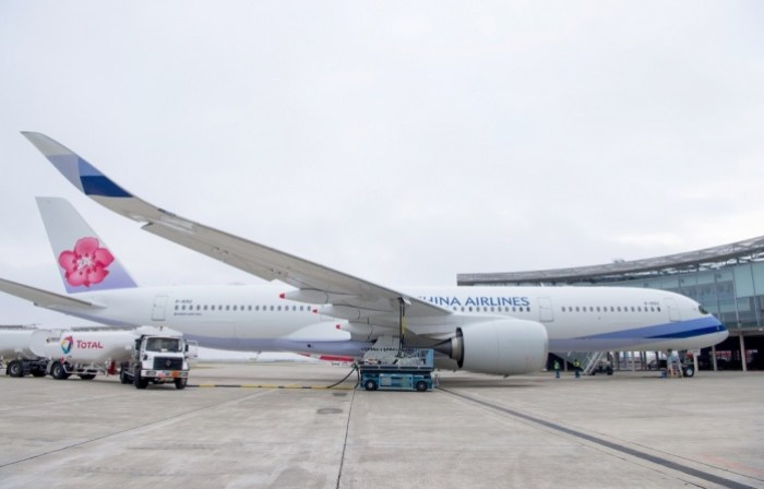 China Airlines takes delivery of A350 XWB powered with biofuel mix 1